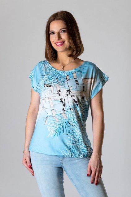 voľné dámske tričko