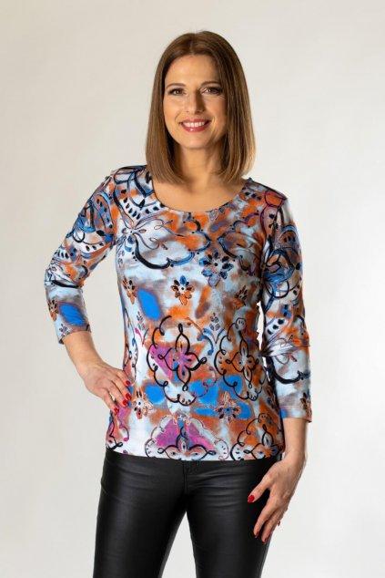 dámske potlačové tričko
