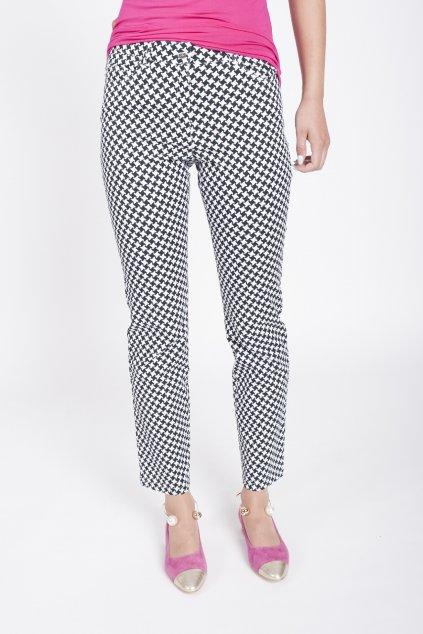 čierno- biele nohavice