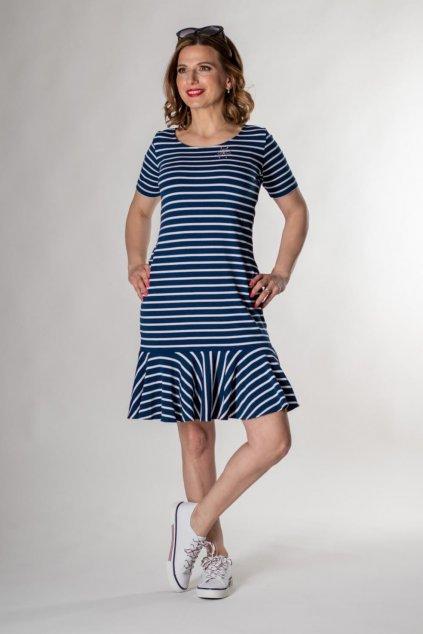 Dámske šaty ABRIA ŠATY KR PR 301 06 SW