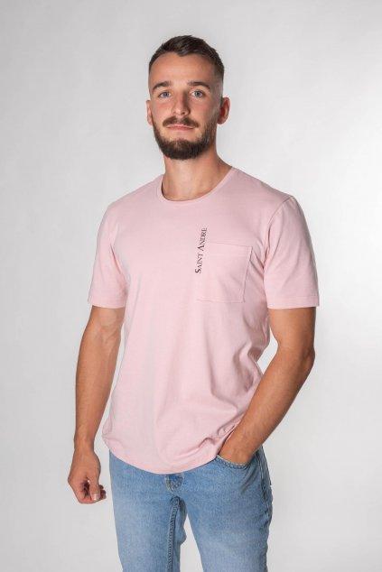 pánske tričko ružové