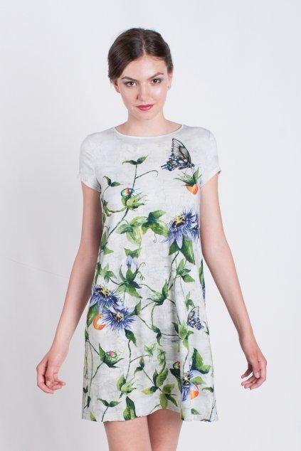 kvietkované šaty