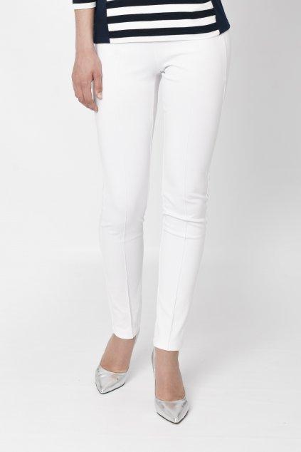 pohodlné biele nohavice