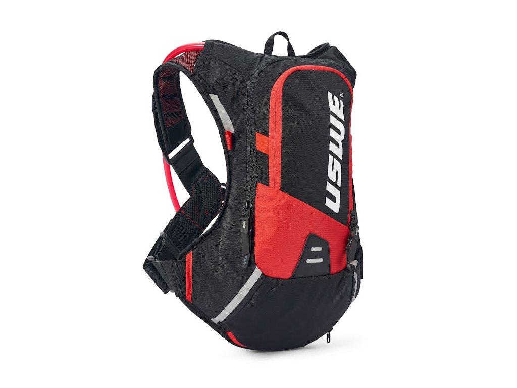 Cyklistický batoh USWE Epic 8 - Black/red