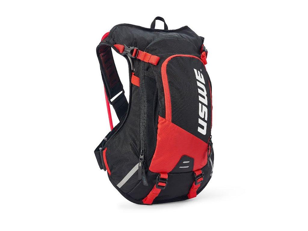 Cyklistický batoh USWE Epic 12 - Black/red