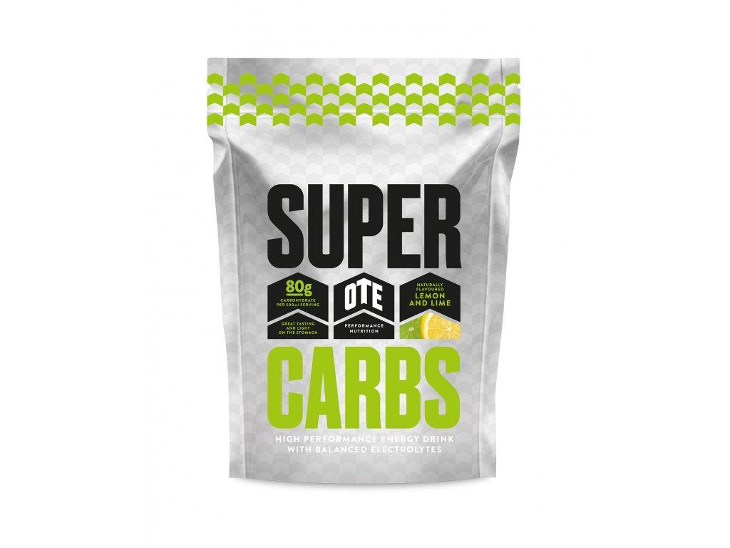 Energetický nápoj OTE Super Carbs Citron a Limetka 850g