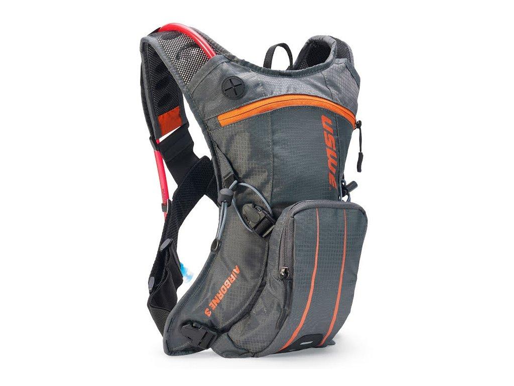 Cyklistický batoh USWE Airborne 3 - grey/orange