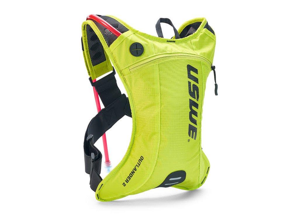 Multisportovní batoh s pitným vakem USWE Outlander 2 - crazy yellow
