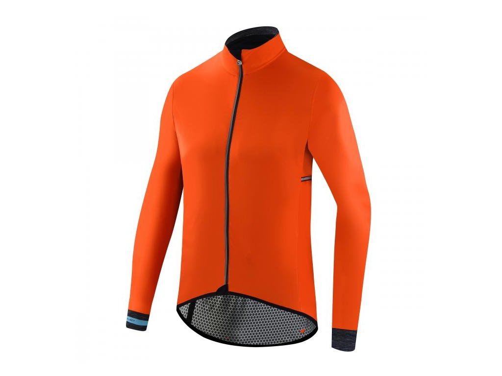 Cyklistická bunda Dotout Hurricane Jacket - Orange