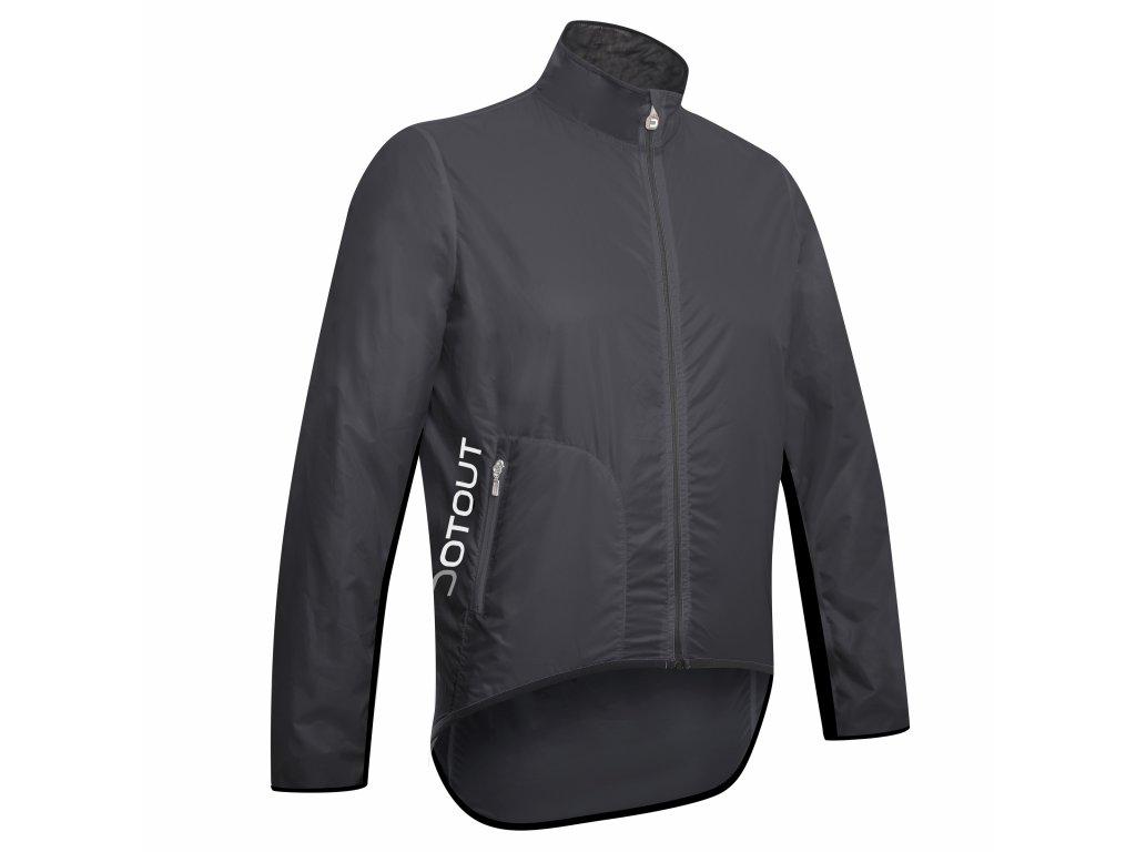 Cyklistická bunda Dotout Tempo Jacket - Dark Grey