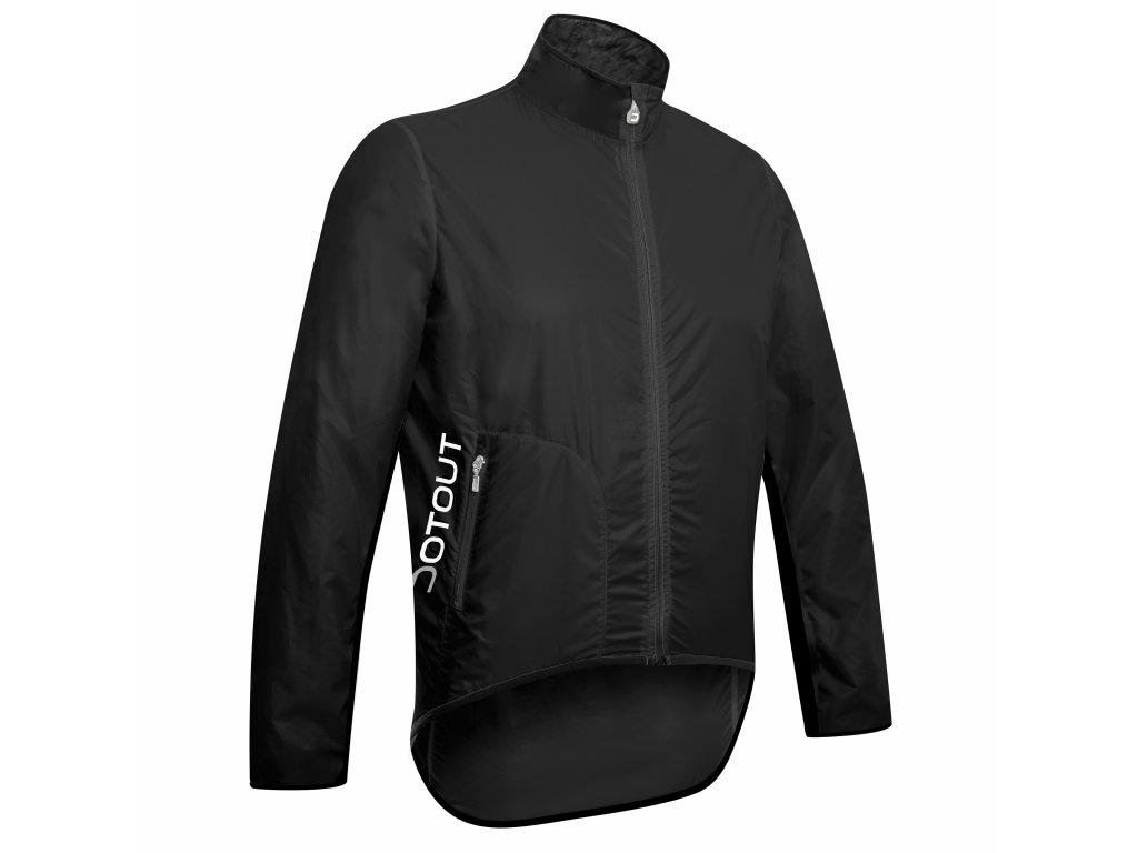 Cyklistická bunda Dotout Tempo Jacket - Black