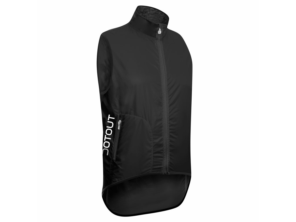 Cyklistická vesta Dotout Tempo Vest - Black