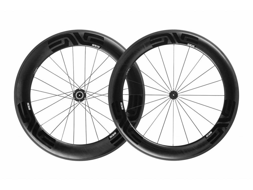 ENVE WS SES 7.8 - Rim Brake, Clincher, ENVE Carbon, QR, QR, Shimano HG, Black Decals