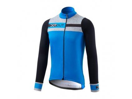 Cyklistický dres Dotout Galaxy Jersey - blue - L