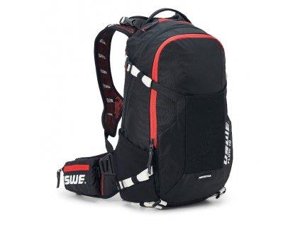 Batoh s chráničem páteře USWE Flow 16 - Black/red