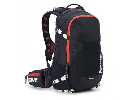 Batoh s chráničem páteře USWE Flow 25 - Black/red