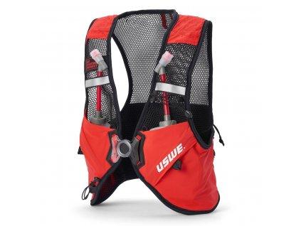 Běžecká vesta USWE Pace 2 - Red/black, M-L