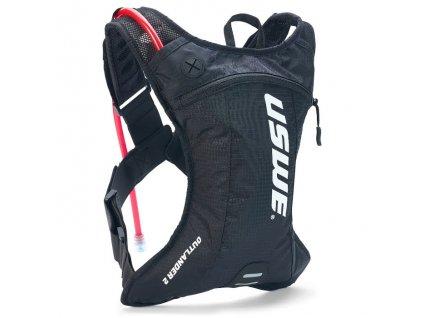 Multisportovní batoh s pitným vakem USWE Outlander 2 - carbon black