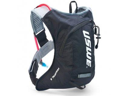 Multisportovní batoh s pitným vakem USWE Vertical 4 plus - carbon black