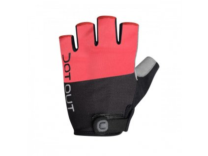 Rukavice Dotout Pin Glove Red/Melange Light Grey A16x001-383