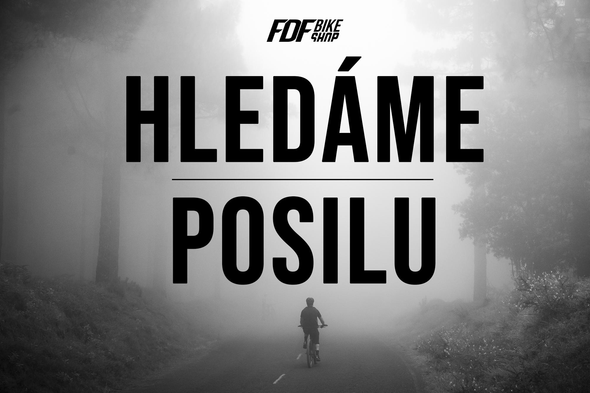 HLEDÁME POSILU