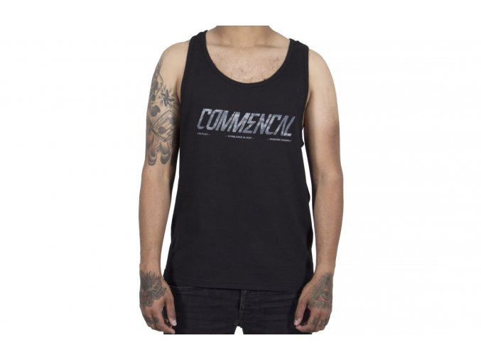 COMMENCAL tílko Tank Top Black