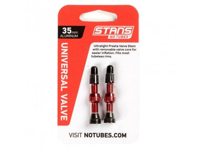 Stan´s No Tubes ventilky Universal alu (2 ks)