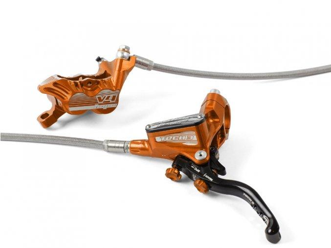 hope disc brake tech 3 v4 separate orange 2019