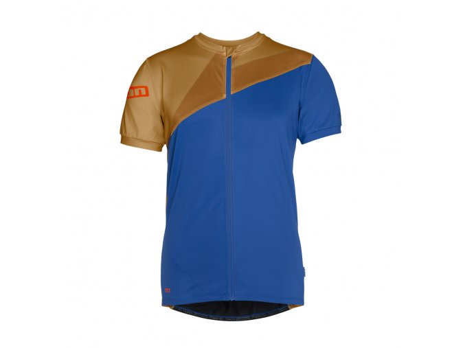 47502 5054 ION Tee Full Zip SS Zion blue f