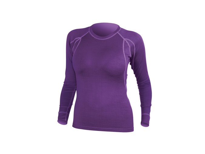 287 vyr 708damske triko endura baabaa merino ls e6032 fialove