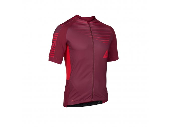 47702 5054 ION Tee Full Zip SS PAZE AMP red f