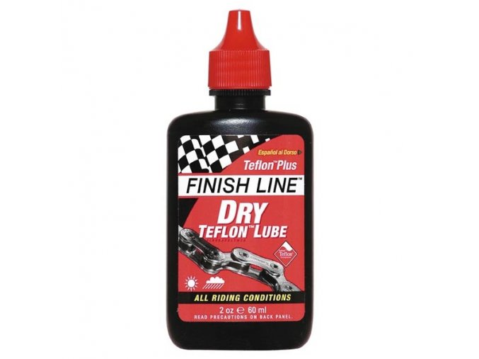 Finish line Teflon plus 60 ml kapátko