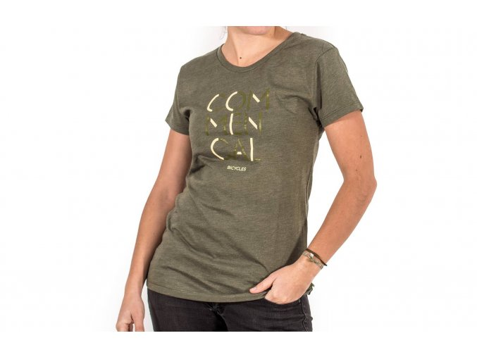 Commencal 3 lines olive girly