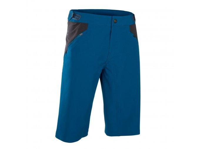 47902 5788 ION Bikeshorts Traze AMP long ocean blue front (1)