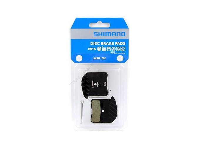 Genuine Shimano H01A Resin MTB Disc Brake Pads