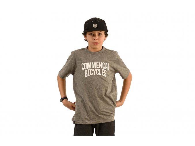Commencal dětské triko Kids T-shirt Grey 2020