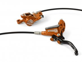 hope disc brake tech 3 x2 separate orange 2019