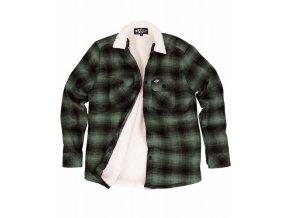 LOOSE RIDERS košile SHERPA - Green