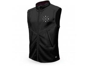 loose riders technical fleece vest black 894763