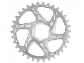 hope chainring direct mount spiderless retainer ring narrow wide 1 speed silver