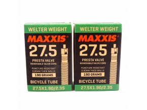 maxxis welter weight 275 x 19 235 bike presta valve inner tube1