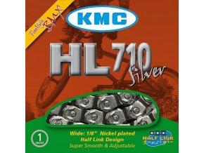KMC řetez HL710 Silver