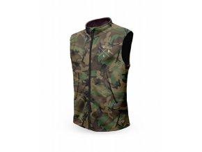 LOOSE RIDERS vesta Technical Vest - Forest Camo