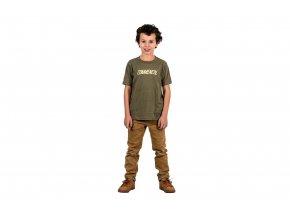 Dětské triko Corporate military green