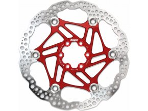 hope 180mm floating 6 bolt disc rotor red HOPRMF6 RE 180