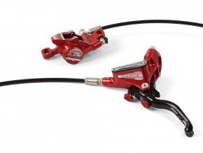 hope disc brake tech 3 x2 separate red 2019