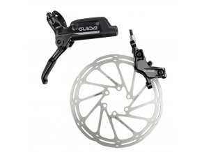 db gde t a1 lever caliper rotor black side l