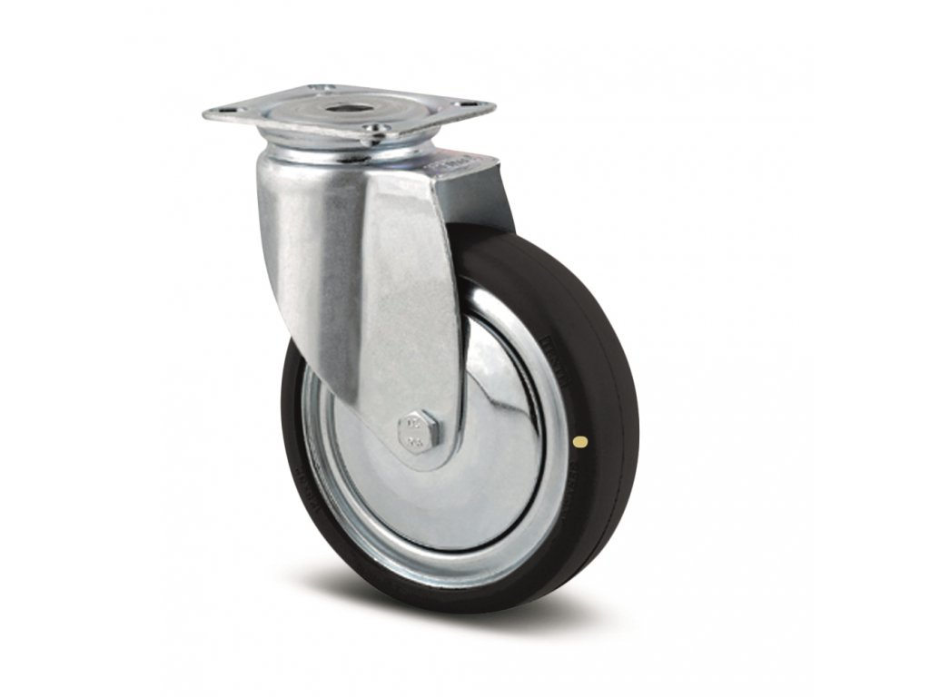Antistatické kolečko 75 mm, otočné