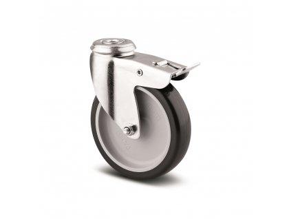 Přístrojové kolečko 75 mm, otočné s brzdou