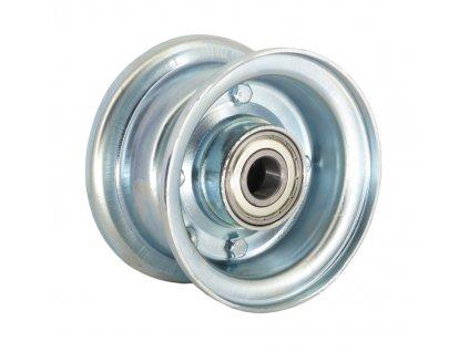 """Disk 4"""", kovový dělený, kuličkové ložisko délka 50 mm"""